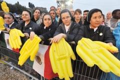 Veglia per la beatificazione di Giovanni Paolo II al Circo Massi
