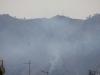 Incendio Monte Grifone: il mattino dopo