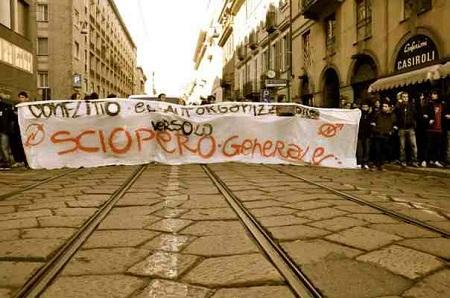 EDIZIONE STRAORDINARIA: Palermo paralizzata per sciopero