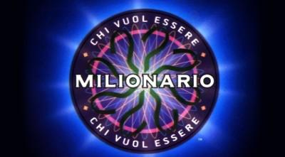 """TV, vinto il Milione di Euro a """"Chi vuol esser Milionario"""""""
