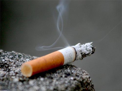 Le sigarette? Sono radioattive!