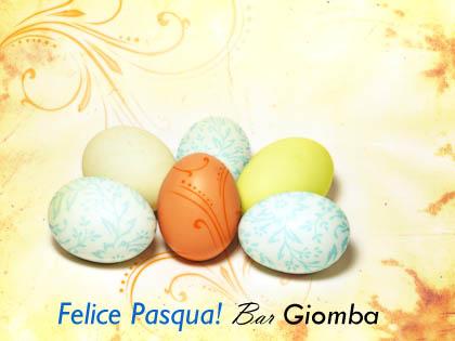 """Buona Pasqua dal """"Bar Giomba""""!"""