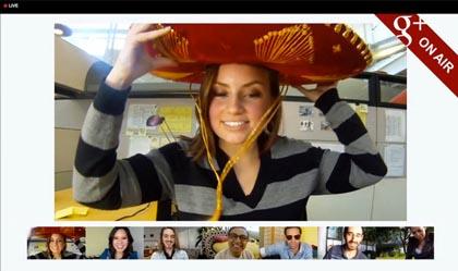 Google+, al via i videoritrovi pubblici