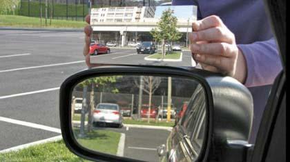 """Automobili, arriva lo specchietto """"a 45 gradi"""""""