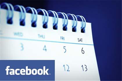 """Facebook lancia la nuova pagina """"Eventi"""""""