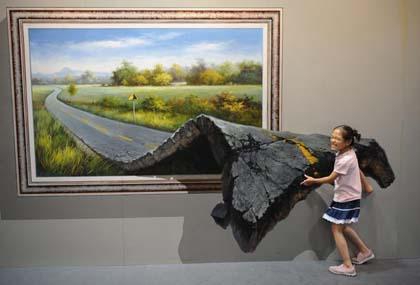 """Cina, al via la mostra delle """"opere interattive"""""""