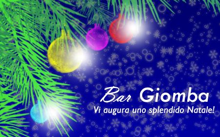 "Buon Natale dal ""Bar Giomba"""