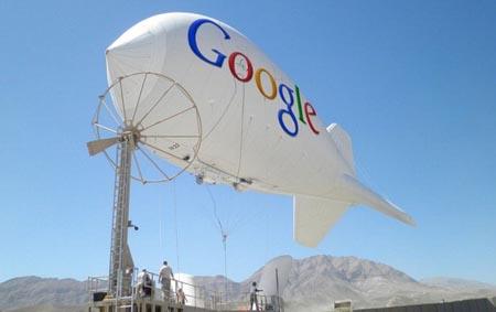 """Google lancia il """"Wifi sui dirigibili"""""""