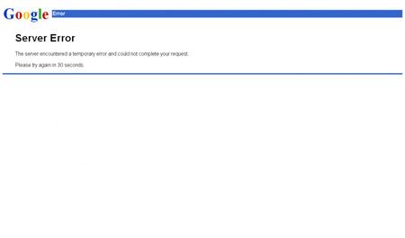 Curiosità, Google va in down: si blocca il Web