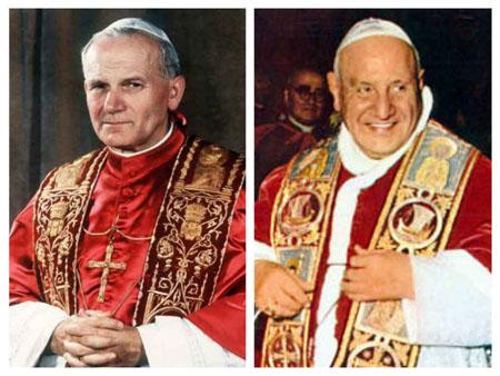 Il 27 Aprile Wojtyla e Roncalli saranno fatti santi