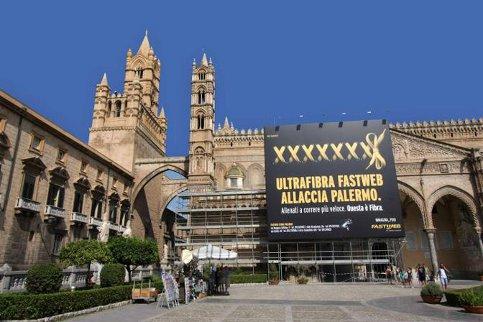 Palermo, Cattedrale: si all'affissione delle pubblicità