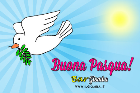 "Buona Pasqua da ""Bar Giomba""!"