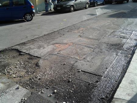"""Palermo, Boccadifalco: fibra ottica e """"buche"""" fastidiose"""