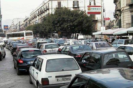 Viabilità, Palermo sesta città al mondo più trafficata