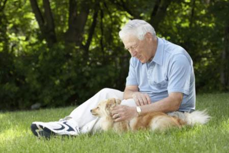 Anziani, chi ha un cane dimostra dieci anni di meno