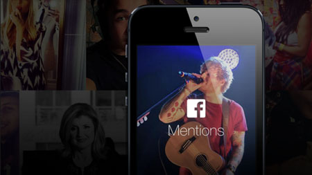 "Facebook, anche in Italia arriva ""Mentions"""