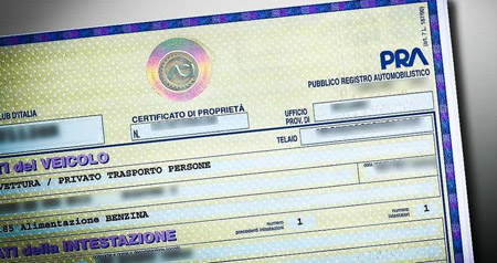 "Automobili: a breve al via il ""documento unico"""