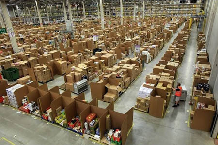 Amazon, via alle visite guidate del Centro di Distribuzione