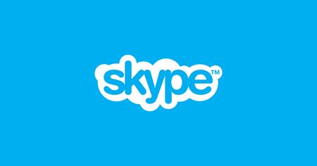 Web, Skype va KO tramite un messaggio
