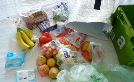 Amazon apre ai generi alimentari