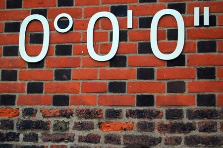 Curiosità, il meridiano di Greenwich si è spostato