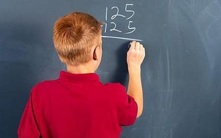 Bambini più bravi in matematica con un ormone materno