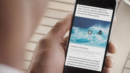 "Facebook lancia ""Instant Articles"" in Italia"