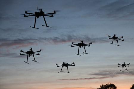 Francia, i droni prendono il posto degli autovelox