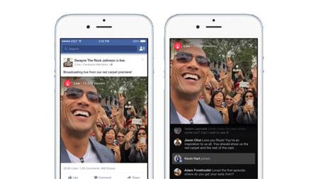 Facebook, via ai video in diretta per tutti