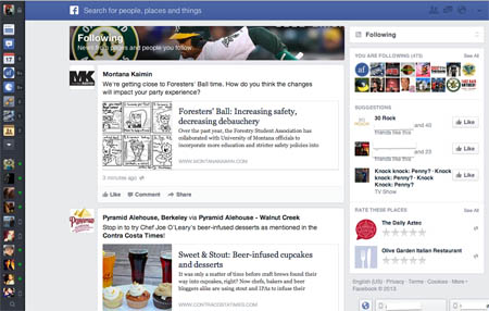 "Facebook testa i ""newsfeed"" alternativi: novità in vista?"