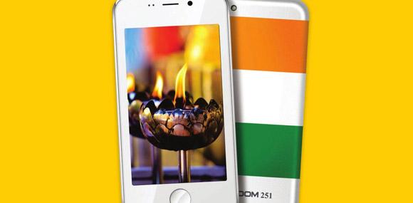 Freedom 251, arriva dall'India lo smartphone da tre Euro