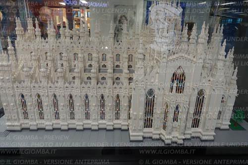 Il Duomo di Lego a Linate