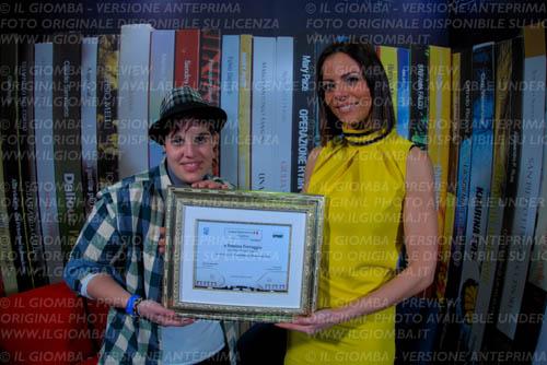 Simona Ferruggia premiata a Casa Sanremo