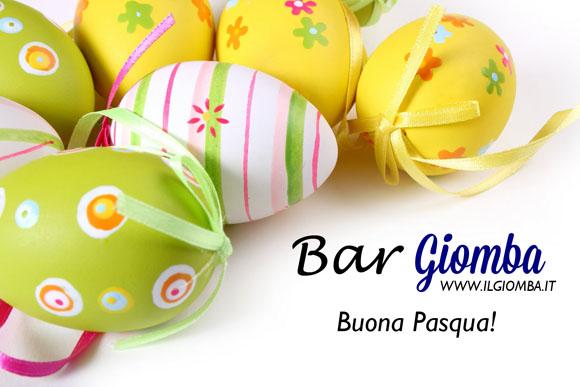 Bar Giomba vi augura Buona Pasqua!