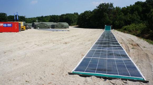 Fotovoltaico proiettato nel futuro con i pannelli arrotolabili