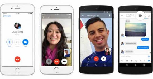 Messenger di Facebook - Via alle chiamate di gruppo