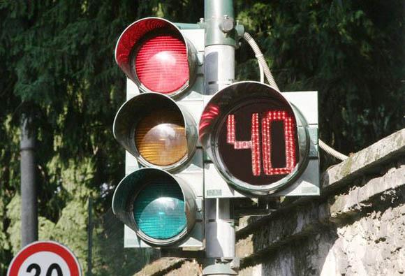 Semafori countdown, anche in Italia, a breve, la rivoluzione