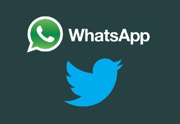 Whatsapp e Twitter: novità in arrivo