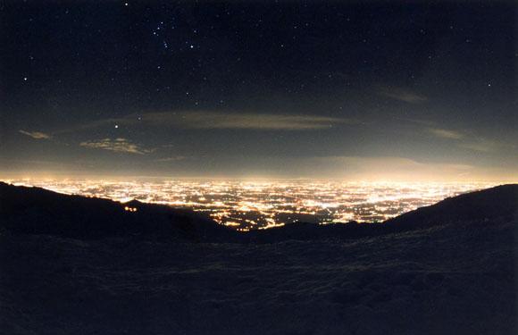 Inquinamento luminoso, Italia ai primi posti