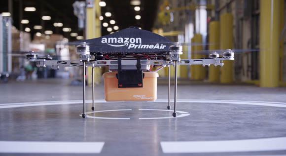Amazon - Al via i test delle consegne con i droni
