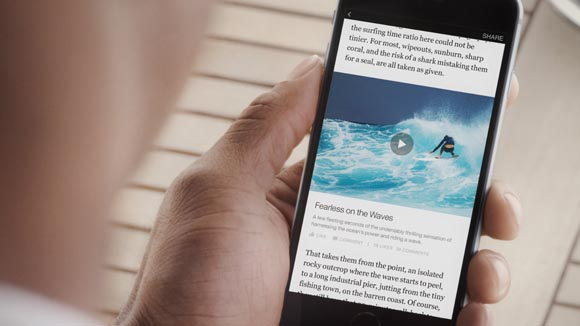 Facebook lancia Instant Articles su Messenger