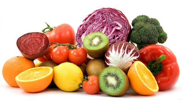 Felicità in aumento con frutta e verdura