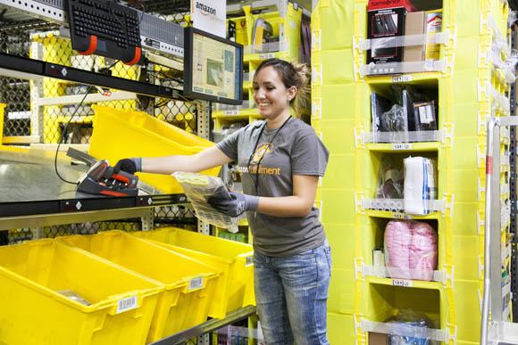 Amazon, via al nuovo centro di distribuzione nel Lazio: arrivano 1200 posti!