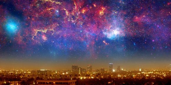 Scienza - L'Universo potrebbe essersi creato grazie ad un enorme rimbalzo
