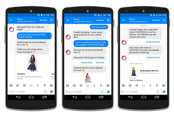 Messenger si trasforma in E Commerce