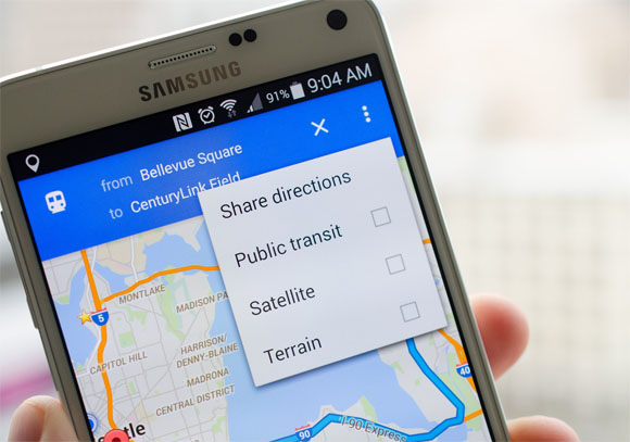 Google, al via i comandi vocali su Maps per Android mentre si guida