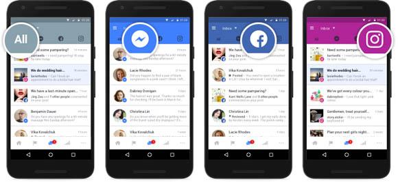 Facebook unisce le caselle di posta di Messenger ed Instagram