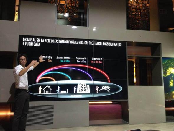 Tecnologia - Fastweb punta sul 5G