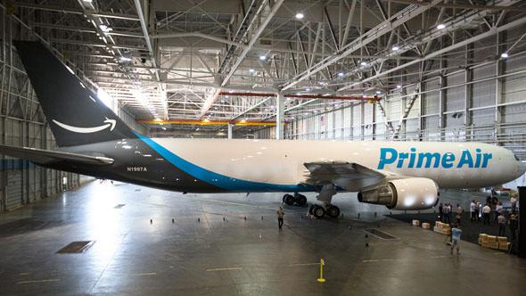Amazon apre il proprio aeroporto