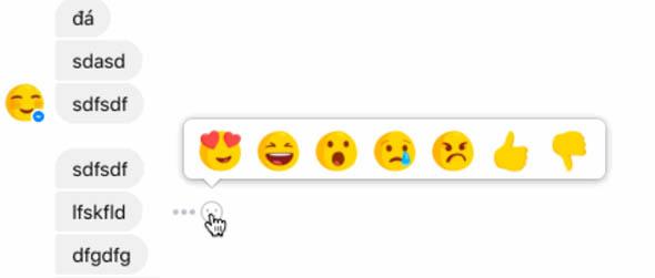 Facebook lancia il non mi piace su Messenger